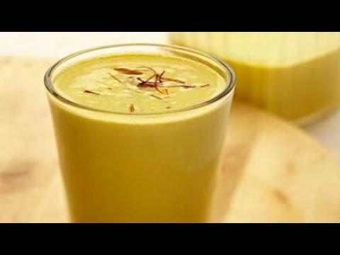 Kesar badam milk-केसर बादाम मिल्क/Saffron almond milk recipe/Badam milk recipe.