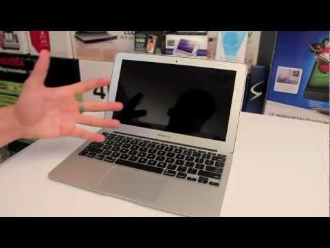 New Macbook Air: First Boot & Setup