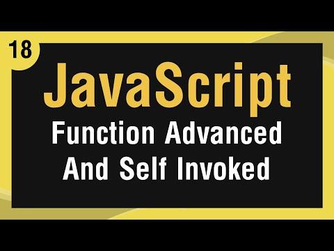Learn JavaScript In Arabic #18 - Function - Advanced And Self Invoke