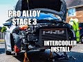 Fiesta st180 bumper removal and Pro Alloy intercooler install