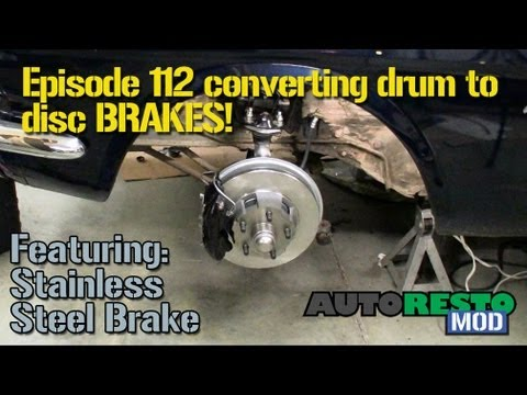 Episode 112 Drum to disc conversion Autorestomod