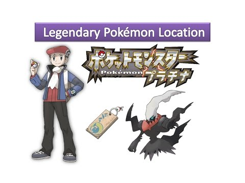 Pokemon Platinum - How to Get Darkrai