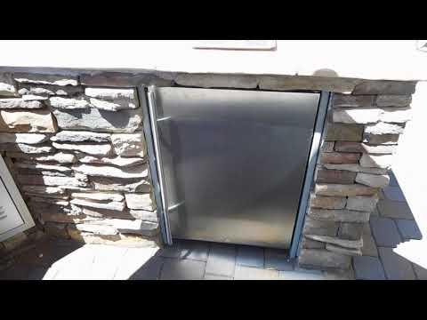 Edgestar Outdoor, Builtin Kegerator Video #1