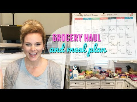 KROGER GROCERY HAUL // MEAL PLAN FOR THE WEEK // EASY FAMILY MEAL PLAN