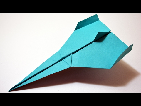 How to make a PAPER AIRPLANE - Best PAPER PLANES in the World - Paper Plane that Fly Far