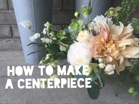 Flower Design 101 // CENTERPIECES