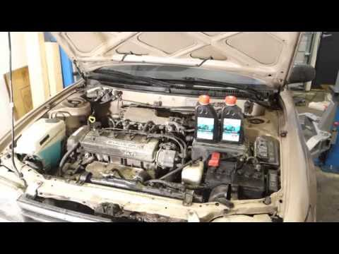 How to replace radiator coolant liquid Toyota Corolla. Years 1991 to 2010