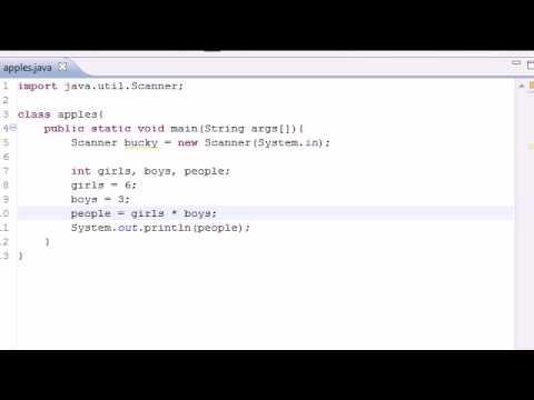 Java Programming Tutorial - 8 - Math Operators