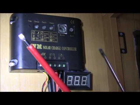 MOTORHOME/CARAVAN SOLAR PANEL VOLTAGE REGULATOR