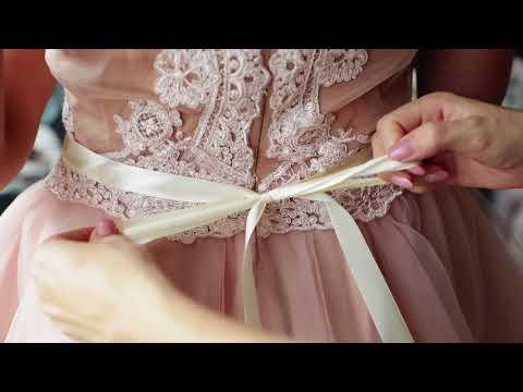 Magaela wedding floral belt