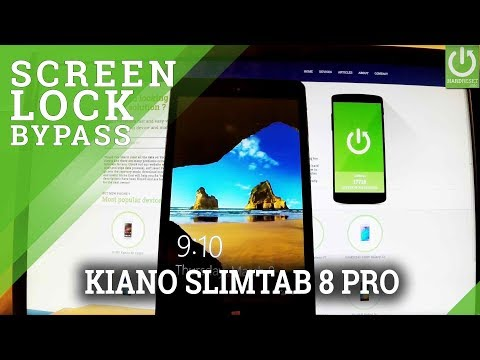 Hard Reset KIANO SlimTab 8 Pro - Remove Password / Format