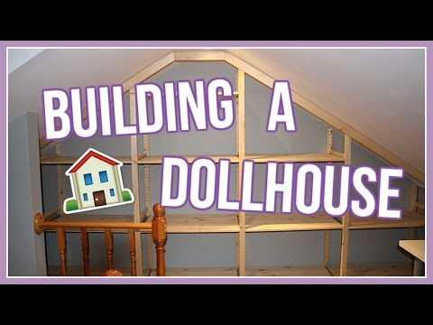 HOW TO MAKE A DOLLHOUSE | Building an American Girl Dollhouse | #DeckOutTheDollhouse Ep. 1