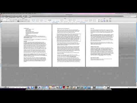 How to Add a Border in Word 2008 for Mac