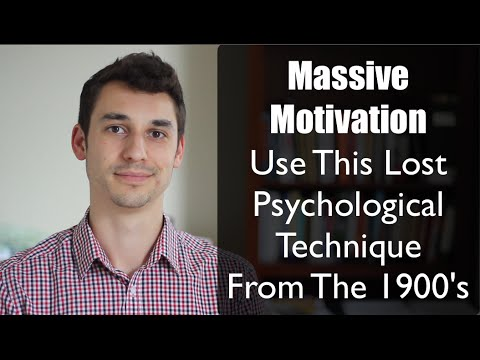 No Motivation to Eat Right & Exercise? Use This Lost 1900s Technique From Psychology