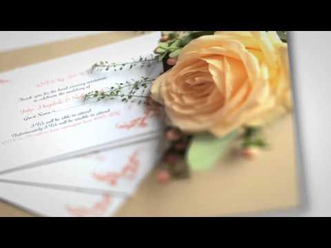 Design Wedding Stationery Online FREE | Marry Me Wedding Stationery
