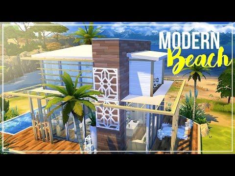 Sims 4 | House Build: Modern Beach House