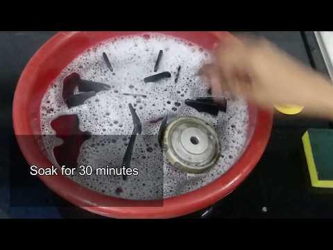 My gas stove cleaning routine[Tamil ]| DeepsTamilKitchen