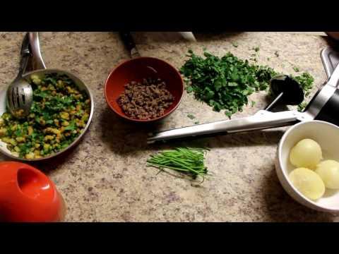 How to Make Homemade Samosa / Sambosa Arabic Dish (Easy Steps)