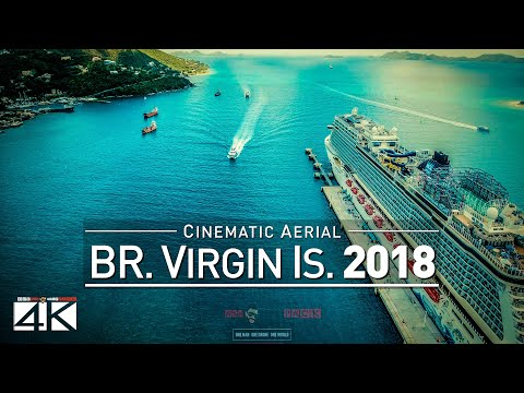 4K Drone Footage BRITISH VIRGIN ISLANDS (Before Irma) [DJI Phantom 4]