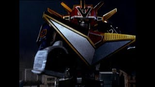 Power Rangers Lightspeed Rescue - Orion Omega Megazord | Lost Galaxy Teamup