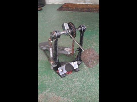 Make your own Kick Pedal Trigger for e-Kit