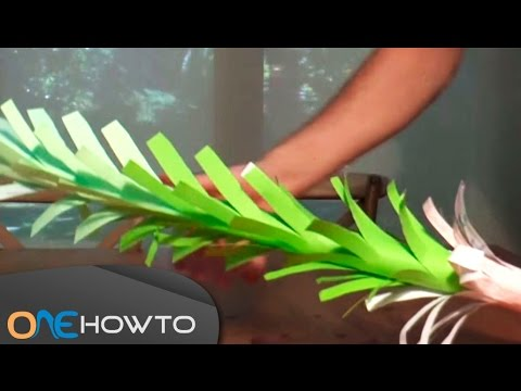 How to make a Growing Paper Tree - Handcraft Tutorial