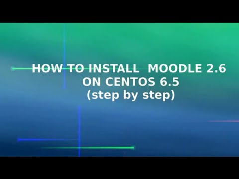 How to Install moodle 2.6 on Centos 6.5 (step by step) - english