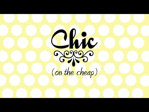 Chic on the Cheap: Lamp Makeover
