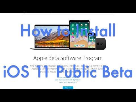 How To Install iOS 11 Public Beta - The Right Way