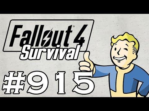 Let's Play Fallout 4 - [SURVIVAL - NO FAST TRAVEL] - Part 915 - Crazy Crocker