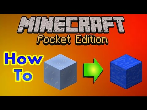 Minecraft Pocket Edition: How to get a still water Block