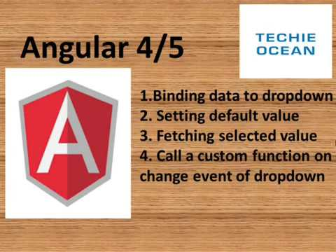Angular 5: How to Bind/Get selected value/Set Default  in SelectList