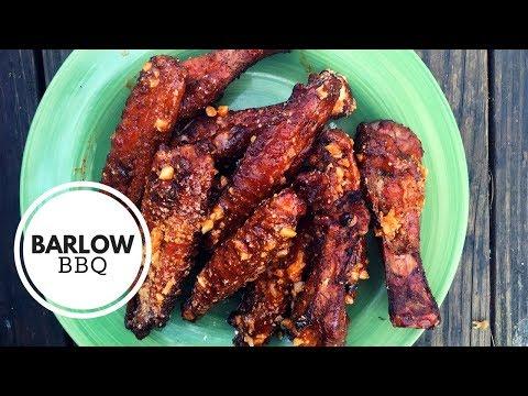 How to Smoke Turkey Wings on the Weber Kettle Grill | Barlow BBQ