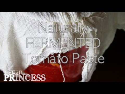 A Better Way To: Preserve Raw Tomatoes (Conserva Cruda Di Pomodoro) Part I  |  Fresh P