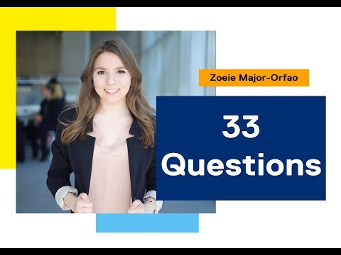 33 Questions - Zoeie - Biomedical Sciences