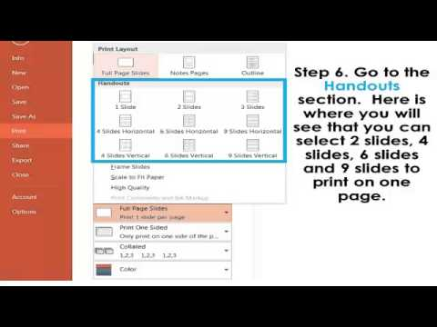 How to Print Flash Cards in PowerPoint