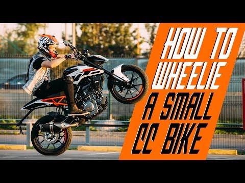 How to wheelie a small cc bike | RokON VLOG #25
