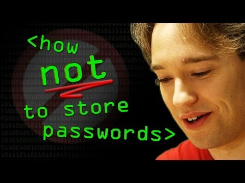 How NOT to Store Passwords! - Computerphile