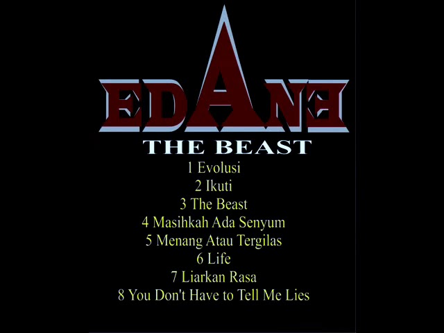 Download EDANE - The Beast 1992 Full Album MP3 Gratis