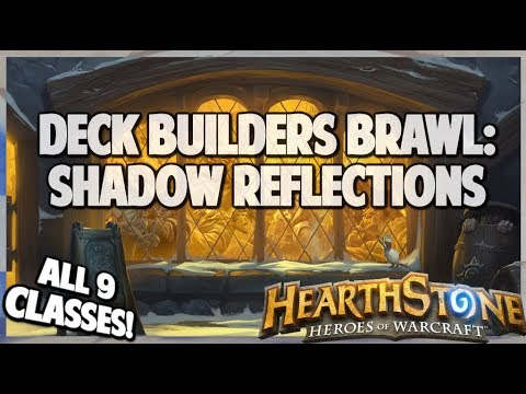 Deck Builders Brawl | Shadow Reflection | Hearthstone | Kobolds and Catacombs