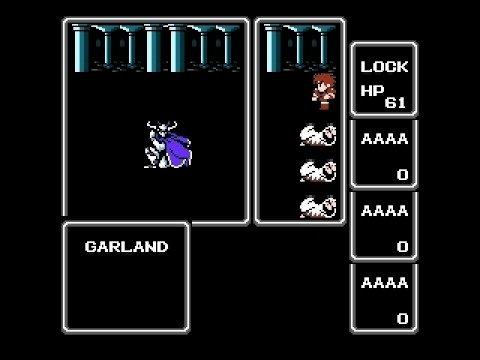 Final Fantasy 1 Fighter Solo. Garland