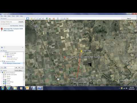 Rural Antenna Survey using Google Earth