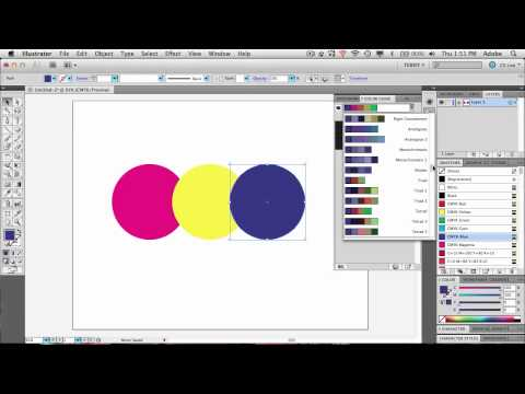 Create Colors in Harmony With Ease in Adobe Illustrator CS5
