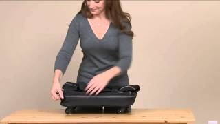 "Biaggi Zip Sak 27"" Foldable Luggage by Lori Greiner with Albany Irvin"