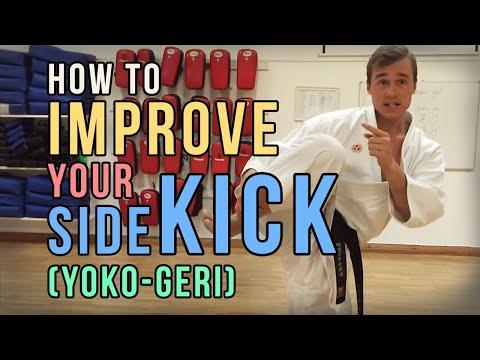 BEST KARATE SIDE KICK EXERCISE (YOKO GERI) — Jesse Enkamp