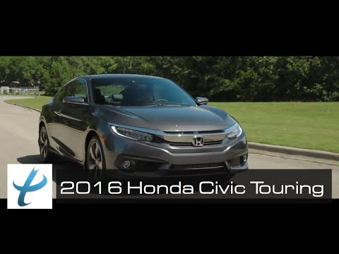 2016 Honda Civic Coupe Touring - Cinematic Review