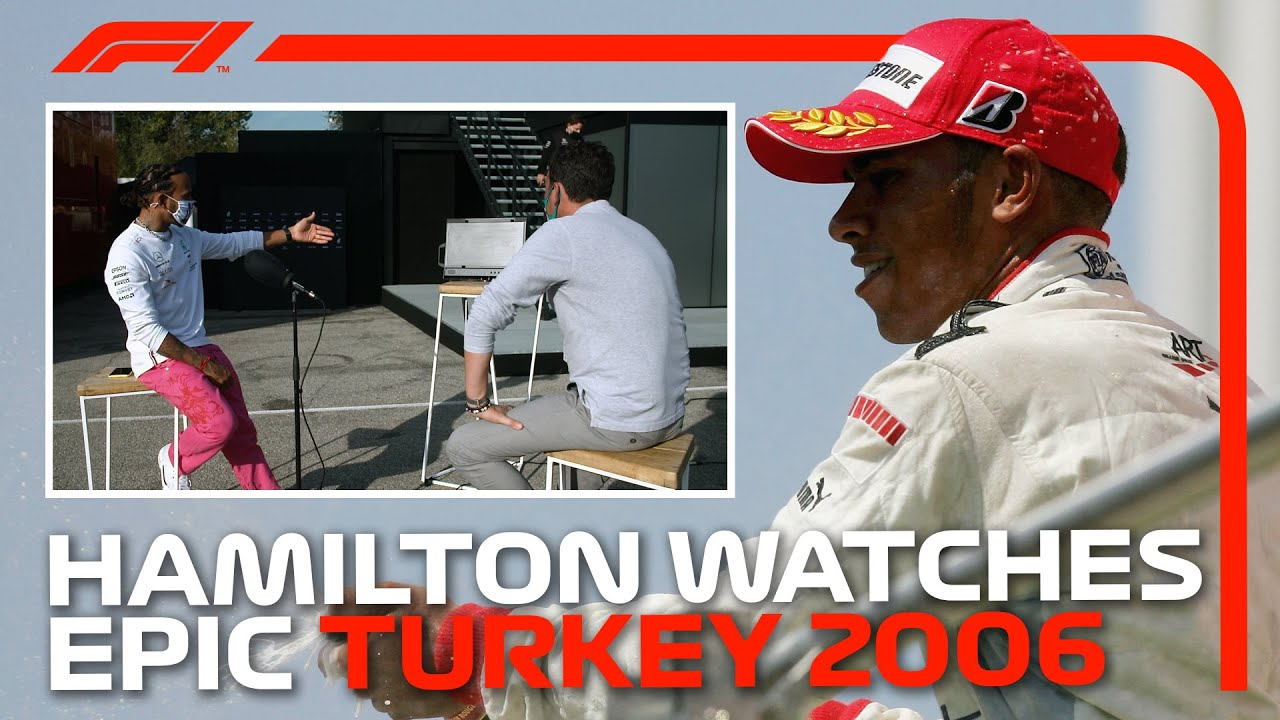 Lewis Hamilton Watches Back His Epic GP2 Breakthrough Drive