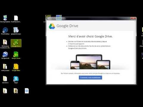Installer Google Drive sur votre ordinateur