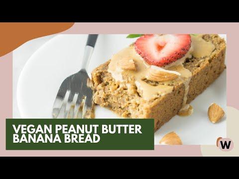 Vegan Peanut Butter Banana Bread