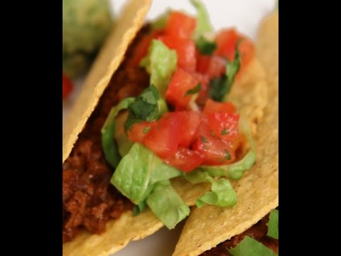 HOW TO PREPARE BEEF TACOS - ENERGY FOOD,NON VEGETARIAN,FUNNY HOT RECIPES